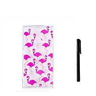 billige Mobilcovers-Etui Til Sony Xperia L2 Xperia L1 Gennemsigtig Bagcover Flamingo Blødt TPU for Xperia XZ1 Compact Sony Xperia XZ1 Xperia XA2 Xperia XA2