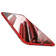 Недорогие Кейсы для iPhone 8 Plus-Кейс для Назначение Apple iPhone X / iPhone 8 Стразы / Ультратонкий / Сияние и блеск Кейс на заднюю панель Однотонный Мягкий ТПУ для