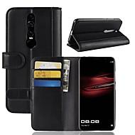 preiswerte Handyhüllen-Hülle Für Huawei Mate RS Porsche Design / Mate 10 pro Geldbeutel / Kreditkartenfächer / mit Halterung Ganzkörper-Gehäuse Solide Hart