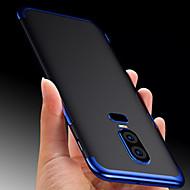 preiswerte Handyhüllen-Hülle Für OnePlus OnePlus 6 / OnePlus 5T Transparent Rückseite Solide Weich TPU für OnePlus 6 / OnePlus 5T