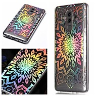 preiswerte Handyhüllen-Hülle Für Huawei P20 / P20 lite Muster Rückseite Blume / Farbverläufe Weich TPU für Huawei P20 / Huawei P20 lite