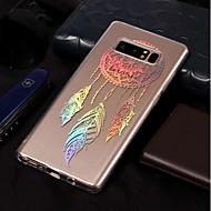 Недорогие Чехлы и кейсы для Galaxy Note-Кейс для Назначение SSamsung Galaxy Note 8 Покрытие / С узором Кейс на заднюю панель Ловец снов Мягкий ТПУ для Note 8