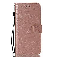 preiswerte Handyhüllen-Hülle Für Xiaomi Redmi Note 5A / Mi 6X Kreditkartenfächer / Geldbeutel / mit Halterung Ganzkörper-Gehäuse Solide / Einhorn Hart PU-Leder