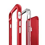 Недорогие Кейсы для iPhone 8 Plus-Кейс для Назначение Apple iPhone X / iPhone 8 Полупрозрачный Кейс на заднюю панель Однотонный Твердый Акрил для iPhone X / iPhone 8 Pluss