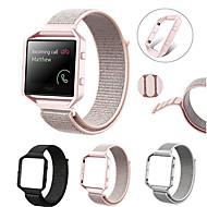 Недорогие Аксессуары для смарт-часов-Ремешок для часов для Fitbit Blaze Fitbit Современная застежка Нейлон Повязка на запястье