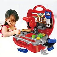 abordables Juguetes Clásicos-Herramientas de juguete / Cajas de Herramientas Creativo / Interacción padre-hijo Niño / Preescolar Regalo 19pcs