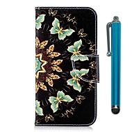 preiswerte Handyhüllen-Hülle Für Huawei Y9 (2018)(Enjoy 8 Plus) / Y6 (2017)(Nova Young) Geldbeutel / Kreditkartenfächer / mit Halterung Ganzkörper-Gehäuse