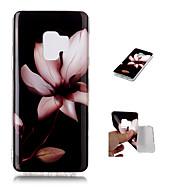 Недорогие Чехлы и кейсы для Galaxy S9-Кейс для Назначение SSamsung Galaxy S9 Plus / S9 С узором Кейс на заднюю панель Цветы Мягкий ТПУ для S9 / S9 Plus