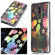 お買い得  携帯電話ケース-ケース 用途 Huawei P20 / P20 lite パターン バックカバー カラーグラデーション ソフト TPU のために Huawei P20 / Huawei P20 lite
