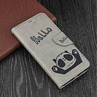 preiswerte Handyhüllen-Hülle Für Xiaomi Redmi 5 Plus / Redmi 5 Geldbeutel / Kreditkartenfächer / mit Halterung Ganzkörper-Gehäuse Panda Hart PU-Leder für Redmi Note 5A / Xiaomi Redmi Note 4X / Xiaomi Redmi Note 4