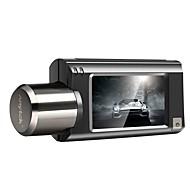 Недорогие Видеорегистраторы для авто-Anytek G100 1080p Давление / Двойной объектив Автомобильный видеорегистратор 160° Широкий угол 2.5 дюймовый IPS Капюшон с WIFI / GPS /