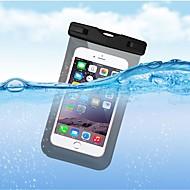 お買い得  携帯電話ケース-ケース 用途 Apple iPhone X / iPhone 8 Plus 防水 ポーチ ソリッド ソフト TPU のために iPhone X / iPhone 8 Plus / iPhone 8