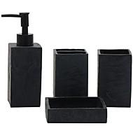 abordables Gadgets de Baño-Set de Accesorios de Baño Nuevo diseño Moderno 4pcs - Baño Sencilla