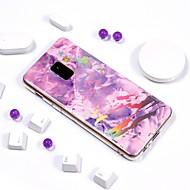Etui Käyttötarkoitus Samsung Galaxy A6+ (2018) / A6 (2018) Pinnoitus / IMD / Kuvio Takakuori Marble Pehmeä TPU varten A6 (2018) / A6+ (2018) / A3 (2017)