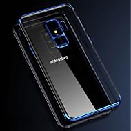 Недорогие Чехлы и кейсы для Galaxy S8 Plus-Кейс для Назначение SSamsung Galaxy S9 Plus / S9 Покрытие / Прозрачный Кейс на заднюю панель Однотонный Мягкий ТПУ для S9 / S9 Plus / S8 Plus