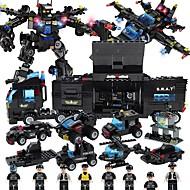 preiswerte Spielzeuge & Spiele-Bausteine 647 pcs Fahrzeuge / Roboter Stress und Angst Relief / Lindert ADD, ADHD, Angst, Autismus / Eltern-Kind-Interaktion Schiff Geschenk