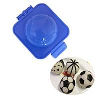 お買い得  キッチン用小物-サッカーサッカー寿司米型プラスチックカッター卵おにぎりメーカーDIY