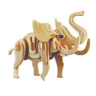 お買い得  おもちゃ & ホビーアクセサリー-ウッドパズル / 論理的思考おもちゃ&パズル ジュラ紀恐竜 / 象 学校用 / 新デザイン / プロフェッショナルレベル 木製 1 pcs 子供用 / 青少年 フリーサイズ ギフト