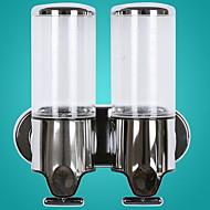 abordables Gran promoción para el hogar-Dispensador de Jabón Smart / Nuevo diseño / Automático Moderno Acero inoxidable / ABS + PC 1pc - Baño Colocado en la Pared