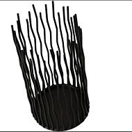お買い得  インテリア用品-コンテンポラリー 鉄 キャンドルホルダー キャンドルスティック 1個, キャンドル / キャンドルホルダー