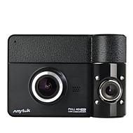 Недорогие Видеорегистраторы для авто-Anytek B60 1080p Ночное видение / Двойной объектив Автомобильный видеорегистратор 170° Широкий угол 2.4 дюймовый TFT Капюшон с GPS /