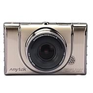 Недорогие Видеорегистраторы для авто-Anytek A100+ 1080p Ночное видение / Двойной объектив Автомобильный видеорегистратор 170° Широкий угол 3 дюймовый Капюшон с G-Sensor /