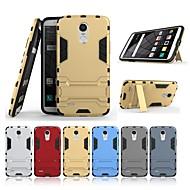 お買い得  携帯電話ケース-ケース 用途 LG StyLo 3 スタンド付き バックカバー ソリッド ハード PC のために LG StyLo 3