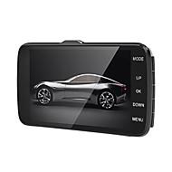 Недорогие Видеорегистраторы для авто-Anytek B50 1296P Ночное видение Автомобильный видеорегистратор 170° Широкий угол 4 дюймовый Капюшон с G-Sensor / ADAS / WDR(широкий