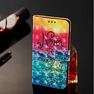 Недорогие Чехлы и кейсы для Galaxy А-Кейс для Назначение SSamsung Galaxy A6+ (2018) / A6 (2018) Кошелек / Бумажник для карт / со стендом Чехол Пейзаж Твердый Кожа PU для A6 (2018) / A6+ (2018) / A8 2018