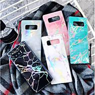 halpa Galaxy Note -sarjan kotelot / kuoret-Etui Käyttötarkoitus Samsung Galaxy S9 Plus / S9 Kuvio Takakuori Marble Pehmeä TPU varten S9 / S9 Plus / S8 Plus