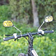 baratos Acessórios para Ciclismo-Espelho da bicicleta do guiador Retratável Ciclismo de Estrada / Moto vidro / ABS Preto - 2 pcs