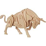 お買い得  おもちゃ & ホビーアクセサリー-ウッドパズル / 論理的思考おもちゃ&パズル 雄牛 学校用 / 新デザイン / プロフェッショナルレベル 木製 1 pcs 子供用 / 青少年 フリーサイズ ギフト