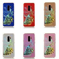 Недорогие Чехлы и кейсы для Galaxy S9 Plus-Кейс для Назначение SSamsung Galaxy S9 Plus / S9 Покрытие / Сияние и блеск Кейс на заднюю панель Фламинго Твердый ПК для S9 / S9 Plus