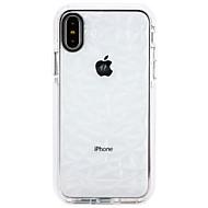 Недорогие Кейсы для iPhone 8 Plus-Кейс для Назначение Apple iPhone X / iPhone 8 Ультратонкий Кейс на заднюю панель Градиент цвета Мягкий ТПУ для iPhone X / iPhone 8 Pluss / iPhone 8