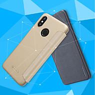お買い得  携帯電話ケース-ケース 用途 Xiaomi Mi 8 / Mi 8 SE フリップ / つや消し フルボディーケース ソリッド ハード PUレザー のために Xiaomi Redmi S2 / Xiaomi Mi Mix 2S / Xiaomi Mi 8