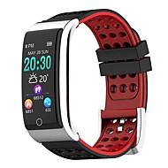 お買い得  -スマートブレスレット E08 のために iOS / Android 防水 / 血圧測定 / 消費カロリー / 長時間スタンバイ / 歩数計 歩数計 / 着信通知 / アクティビティトラッカー / 睡眠サイクル計測器 / 座りがちなリマインダー / 目覚まし時計 / 光センサー / 心拍計 / NRF52832 / カメラコントロール