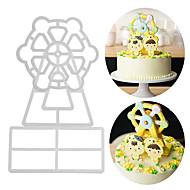 お買い得  キッチン用小物-ベークツール アルミ 新参者 / 3D / DIY ケーキのための / パーティー / 誕生日 ケーキ型 3本