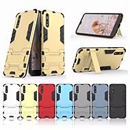 preiswerte Handyhüllen-Hülle Für Huawei P20 / P20 Pro mit Halterung Rückseite Rüstung Hart PC für Huawei P20 / Huawei P20 Pro / Huawei P20 lite