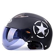 お買い得  -YEMA 329 ハーフヘルメット 大人 男女兼用 オートバイのヘルメット 耐衝撃 / 紫外線カット / 防風