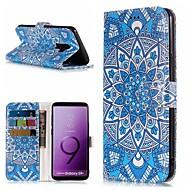 Недорогие Чехлы и кейсы для Galaxy S8-Кейс для Назначение SSamsung Galaxy S9 Plus / S9 Кошелек / Бумажник для карт / со стендом Чехол Мандала Твердый Кожа PU для S9 / S9 Plus / S8 Plus