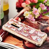 Недорогие Чехлы и кейсы для Galaxy S7 Edge-Кейс для Назначение SSamsung Galaxy S9 Plus / S9 Защита от удара / Движущаяся жидкость / Прозрачный Кейс на заднюю панель единорогом Мягкий ТПУ для S9 / S9 Plus / S8 Plus