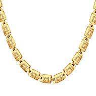 お買い得  -男性用 シングルストランド チョーカー  -  ファッション ゴールド, シルバー, ローズゴールド 56 cm ネックレス ジュエリー 1個 用途 贈り物, 日常
