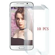 Недорогие Чехлы и кейсы для Galaxy S-Защитная плёнка для экрана для Samsung Galaxy S6 Закаленное стекло 10 ед. Защитная пленка для экрана Уровень защиты 9H / Защита от царапин