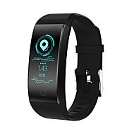 Недорогие Смарт-электроника-QW18 Смарт Часы Android iOS Bluetooth Водонепроницаемый Пульсомер Измерение кровяного давления Сенсорный экран Израсходовано калорий / Длительное время ожидания / Педометр / Напоминание о звонке