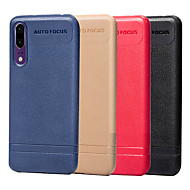 Case For Huawei Y6 (2018) / P20 lite Ultra-thin Back Cover Solid Colored Soft TPU for Huawei P20 / Huawei P20 lite / Mate 10 lite