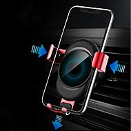 お買い得  -車載 マウントスタンドホルダー エアアウトレットグリル バックルタイプ / 重力タイプ シリコーン / メタル / ABS ホルダー
