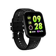 お買い得  -JSBP YY-CPV6 スマートブレスレット Android iOS ブルートゥース 心拍計 血圧測定 タッチスクリーン 消費カロリー 長時間スタンバイ 歩数計 着信通知 アクティビティトラッカー 睡眠サイクル計測器 座りがちなリマインダー / 目覚まし時計 / NRF52832 / カメラコントロール / 200〜250
