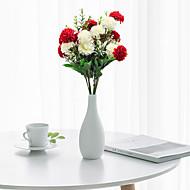 abordables Flores Artificiales-Flores Artificiales 1 Rama Clásico Moderno / Contemporáneo / Estilo Pastoral Hortensias Flor de Mesa