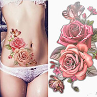 cheap Temporary Tattoos-3 pcs Temporary Tattoos Smooth Sticker / Safety Arm / Shoulder Card Paper / Decal-style temporary tattoos