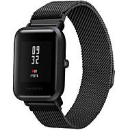 Недорогие Ремешки для часов Xiaomi-Ремешок для часов для Huami Amazfit Bip Younth Watch Xiaomi Миланский ремешок Нержавеющая сталь Повязка на запястье